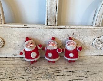 Collection of  Vintage  Santas - Christmas Decor