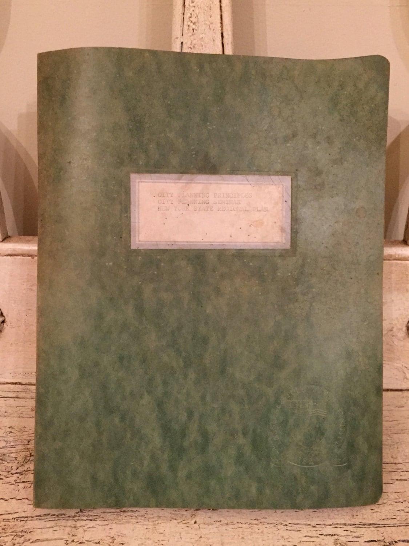 Vintage architects bound notebook from rensselaer paper ephemera sold by thebeezkneezvintage malvernweather Images