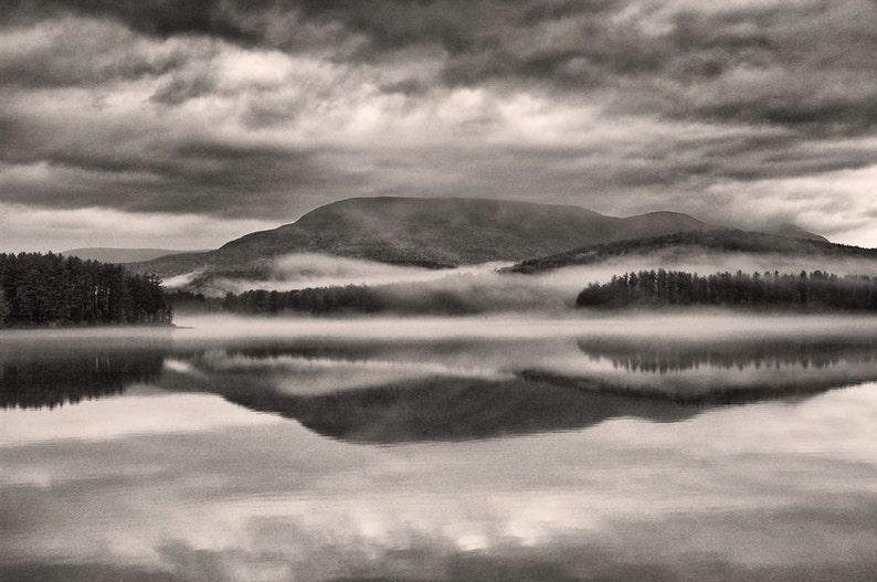 Cooper Lake 13x19 fine art black & white photograph nature image 0