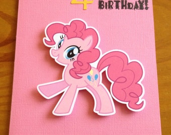 Little Pony Birthday card