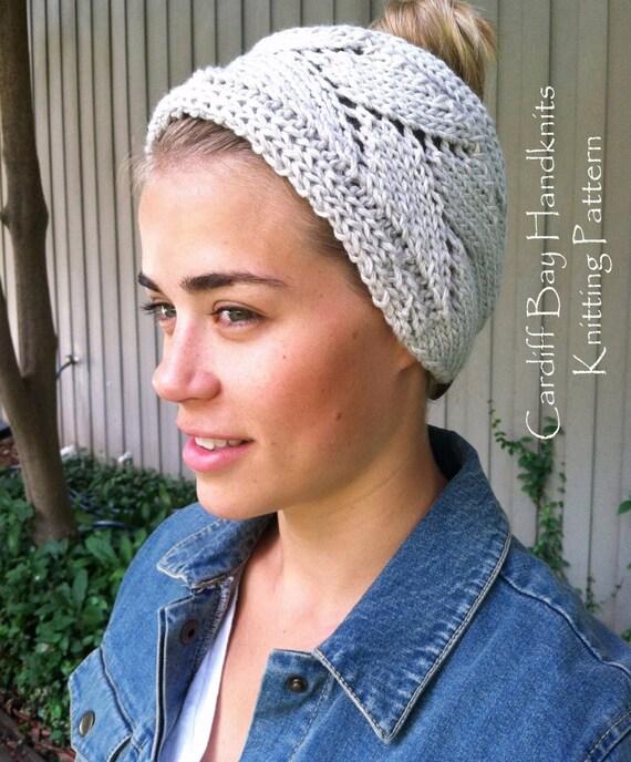 Knitting Patternknit Head Wrapchunky Knitknit Ear Etsy