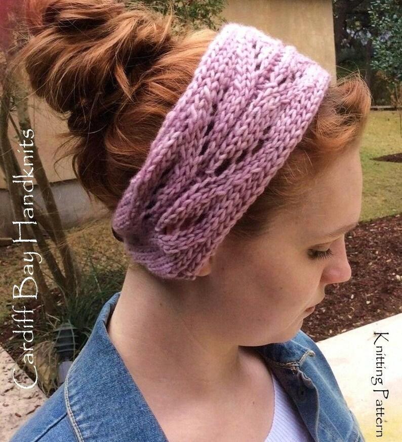 c2195290a26 Knitting PatternKnit Head WrapKnit HeadbandKnit Ear
