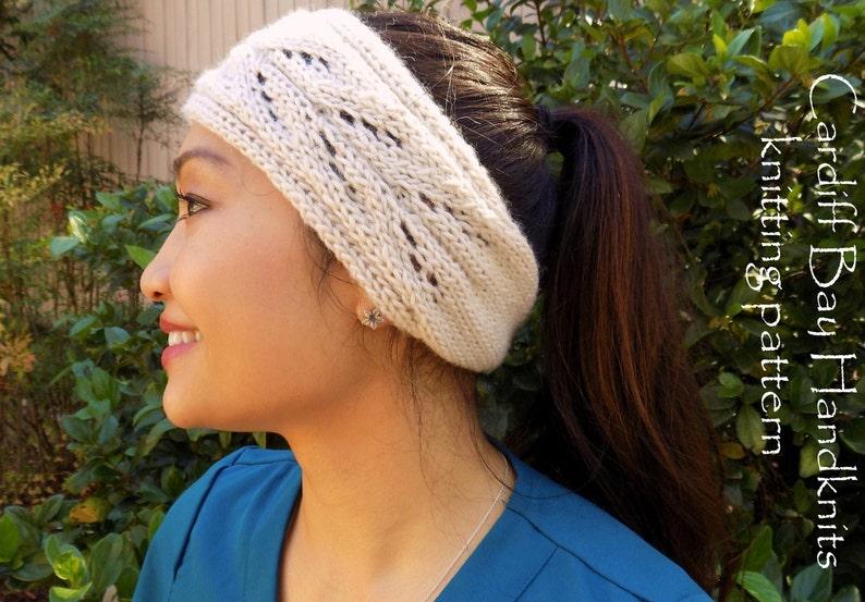863622a604f Knitting PatternKnit Head WrapKnit HeadbandKnit Ear