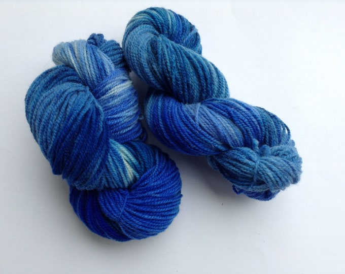 Hand Dyed Yarn Chandos Wool 2 Ply