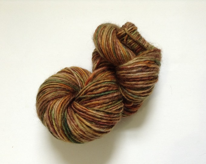 Hand Dyed Yarn Apsley Autumn Wool 1 Ply