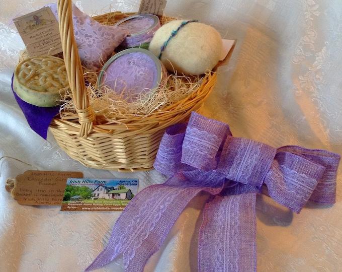 Lavender Soap Gift Basket