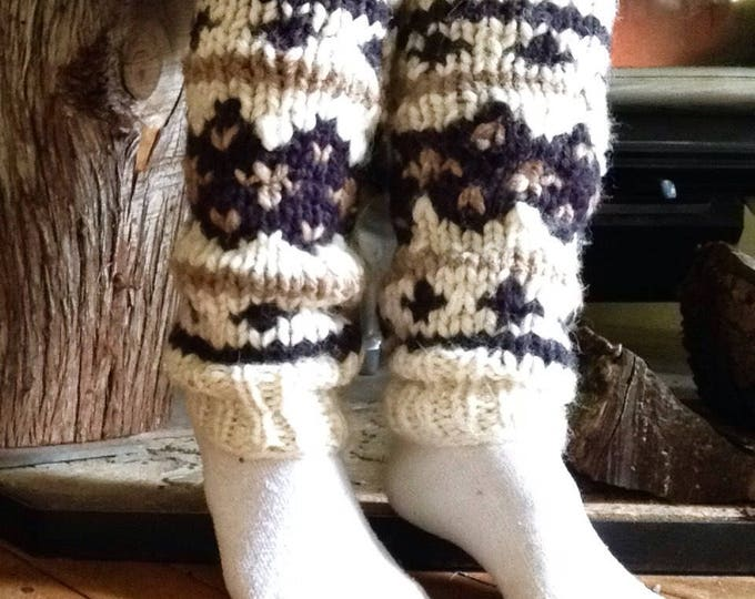 Nordic Leg Warmers wool