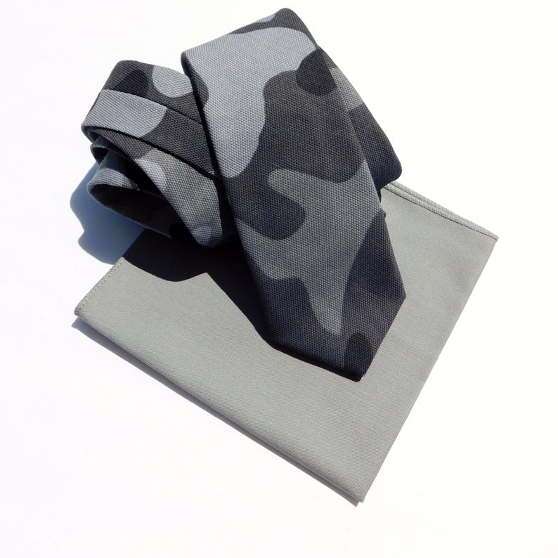 Camouflage neckties ready to ship
