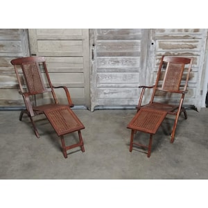 MID 1800/'s CANED CHAIRS # 180735