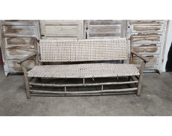1850'S OLD HICKORY BENCH # 185541