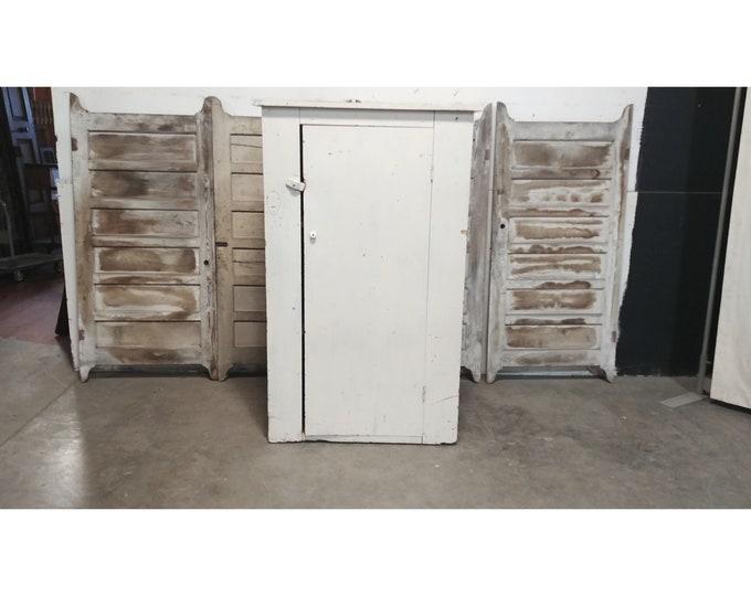 1890'S ONE DOOR CUPBOARD # 185598
