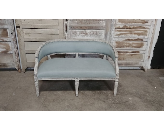 French Style Country Settee # 185668
