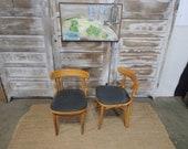 Vintage Bentwood Bistro Chairs 182840