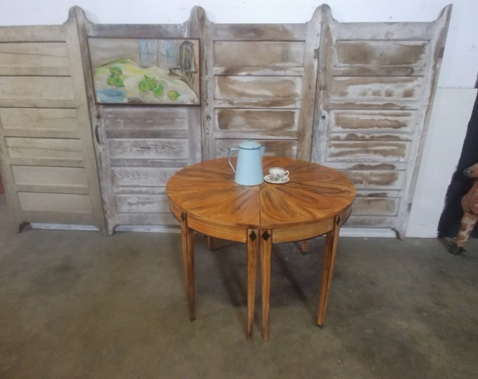 1900'S PAINT DECORATED TABLES # 183423