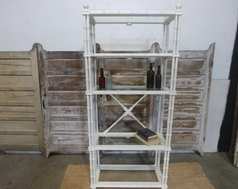 FAUX BAMBOO ETAGERE # 183003