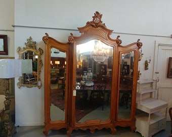 1860'S FRENCH ARMOIRE  # 181084