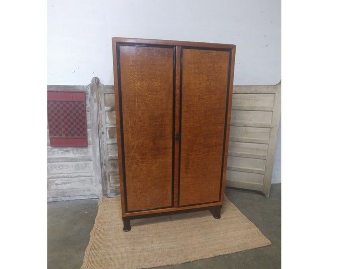 1920'S GENTLEMAN'S ARMOIRE # 182113 AND 182114