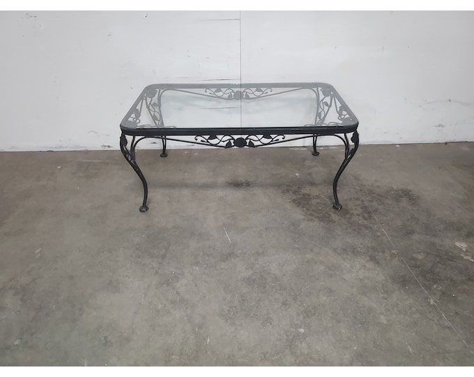 1940,S Iron And Glass Coffee Table # 186195