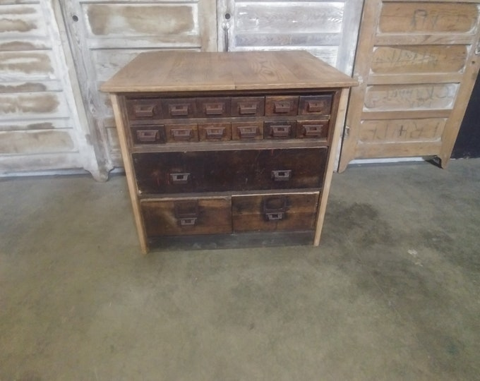 1900'S 15 DRAWER CABINET # 183632