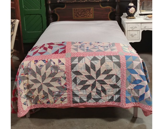 1840'S Bed With Original Paint Custom Base And New Custom Mattress - 185885