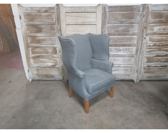 1920'S WING BACK CHAIR # 186259