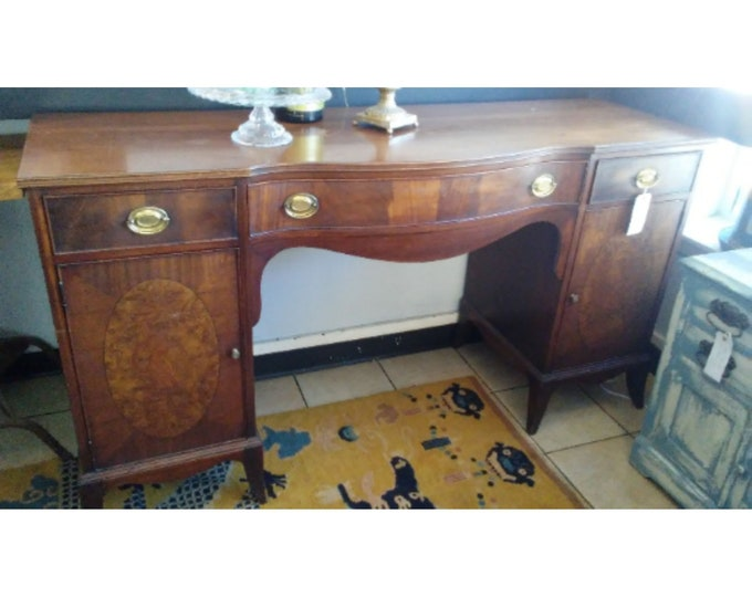 1900'S INLAID SIDE BOARD # 17662A