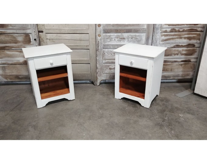 White Painted Night Stands # 185689