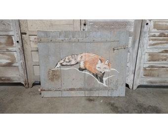 FOLK ART FOX # 185130