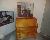1850,s Cherry Drop Front Desk 181966