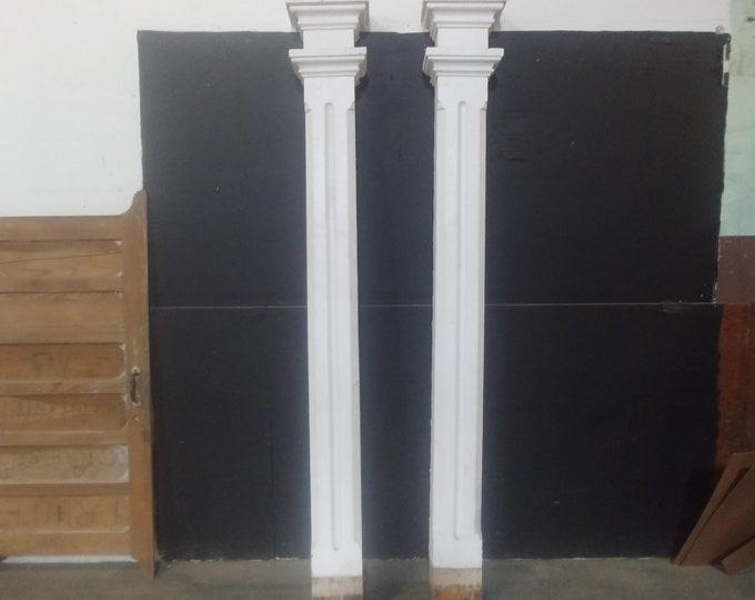 Pair Of 1840's Column's # 183665