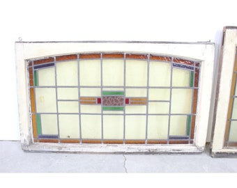 1900'S STAINED GLASS WINDOW # 185348