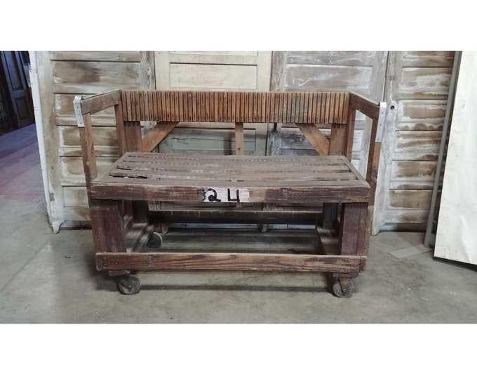 Nice Old Railroad Cart # 185352A