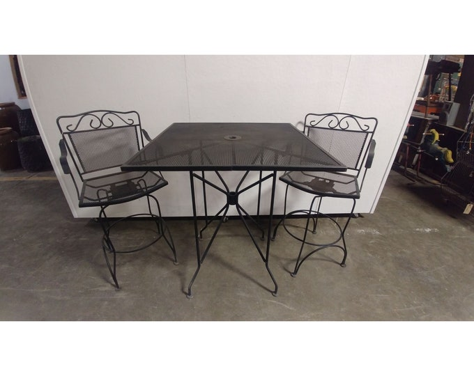 Three Piece Iron Set Table # 181178