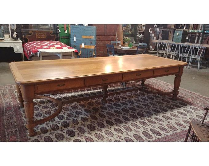 1880'S OAK TABLE # 185605