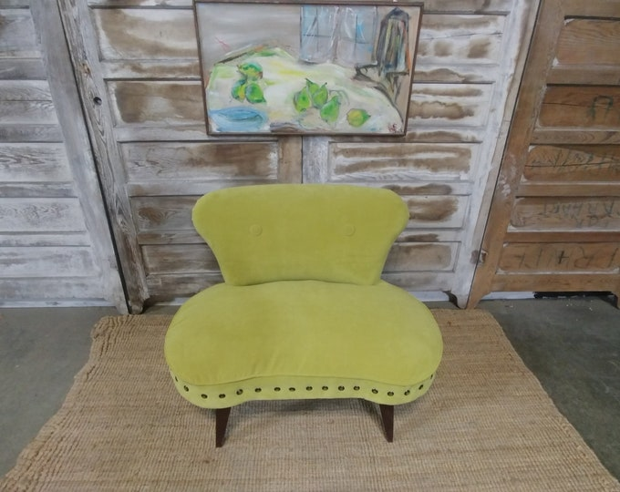 CURVED LOVE SEAT # 182691