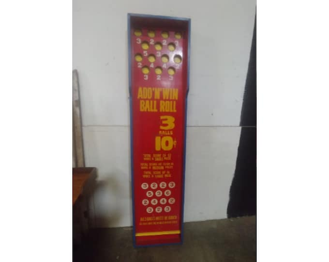 Vintage Add & Win Sign # 183572