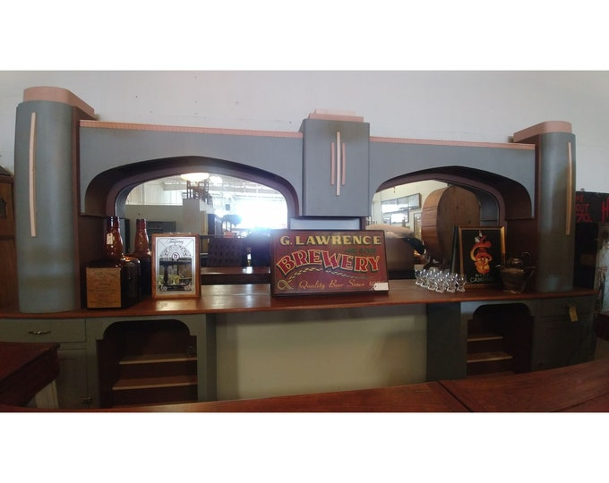1930'S Back Bar From A Pub # 182854