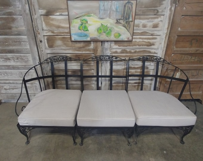 1930'S THREE PIECE SETTEE # 181749