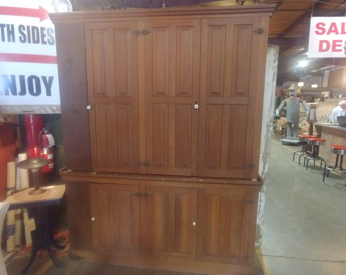 1860'S TWO PIECE CABINET # 183454
