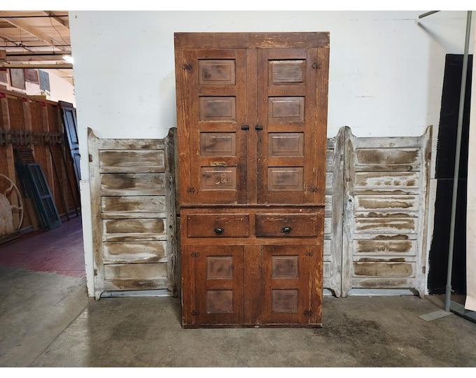 1850'S FOUR DOOR CUPBOARD # 186187