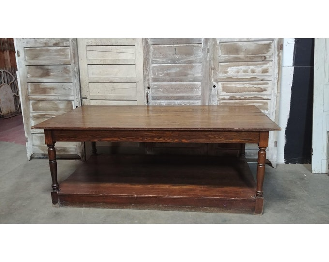 Mid 1800's Two Tier Work Table # 185081