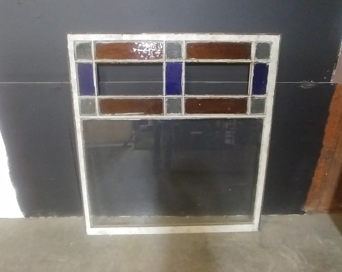 1900'S STAIN GLASS WINDOW # 183354