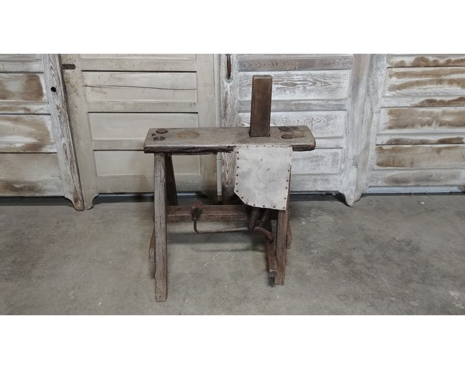 MID 1800'S COBBLERS BENCH # 185540