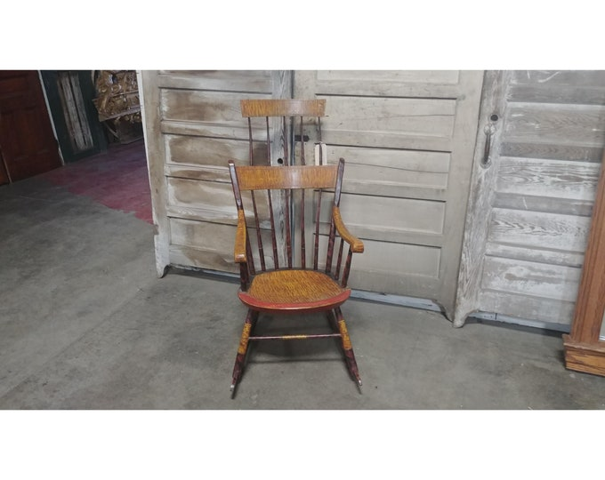 1800'S fAUX ROCKING CHAIR # 184231