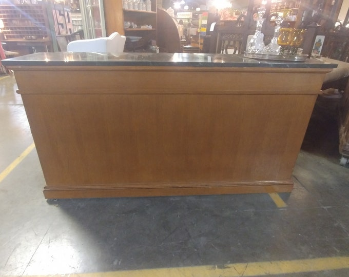 OAK MARBLE COUNTER # 181922
