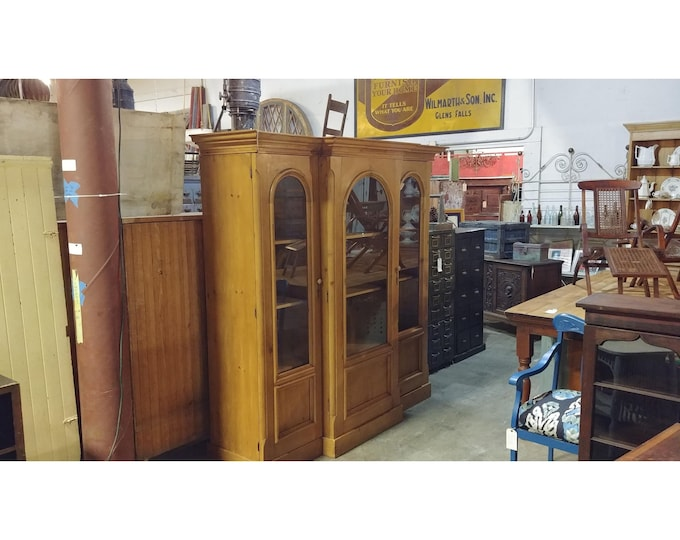 1880'S PINE CABINET # 185115