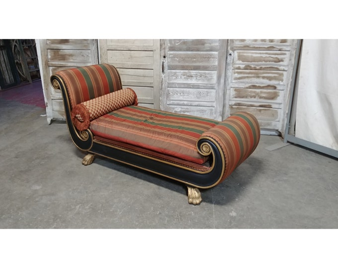 French Empire Style Chaise # 185611