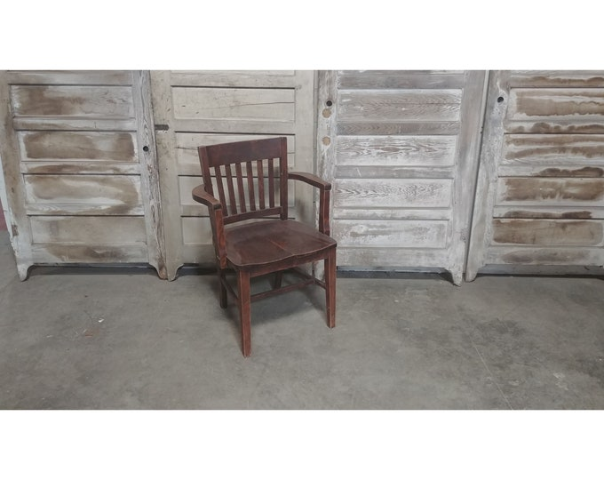 1920'S BANKERS CHAIR # 185881