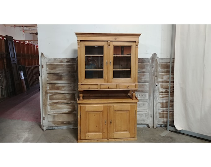 Nice Antique Pine Cupboard # 185400