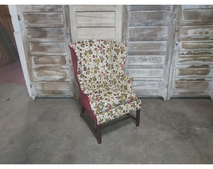 EARLY 1800'S WINGBACK CHAIR # 186257